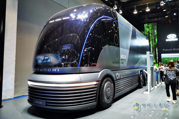 Hyundai Showcases NEPTUNE Fuel Cell Concept Truck Concept at CIIE