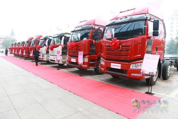 FAW Jiefang 2020 Dump Truck Launched across China
