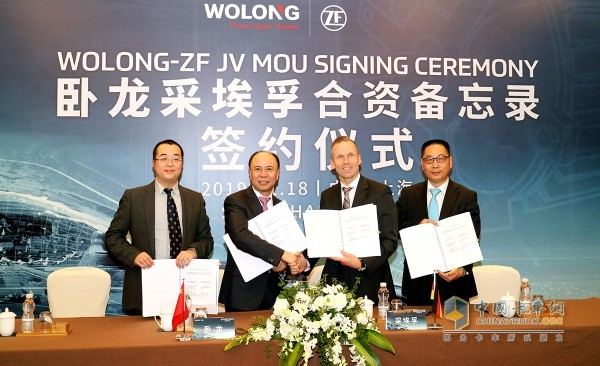 ZF and Wolong to Form JV for Production of Electric Motors and Components