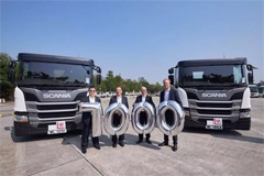 Scania Delivers Its 7000th Trucks in Hongkong