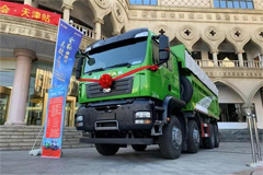 Sitrak Intelligent Construction Truck Makes Its Debut in Tianjin