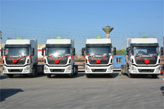 100 Units Dongfeng KL Trucks Delivered to Tianjin for Operation