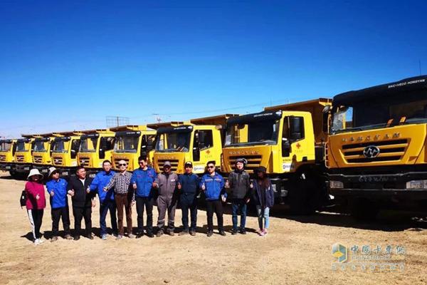 SAIC Hongyan Releases New Heavy-duty Trucks in Tanzania