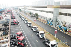 SANY Heavy-duty Truck Exported to Kuwait for Operation