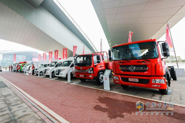 Dongfeng Sold 186,039 Units Medium- and Heavy-duty Trucks in 2019