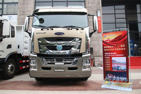 Qingling EVC61 Pure Electric Sweeper Truck+ISUZU Power