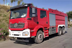 SHACMAN M3000 6×4 Fire Fighting Truck+Weichai Power