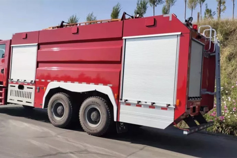 SHACMAN M3000 6×4 Fire Fighting Truck+Weichai Power