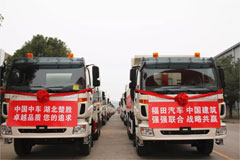 Foton Delivers Vehicles to CSCEC Georgia for Operation