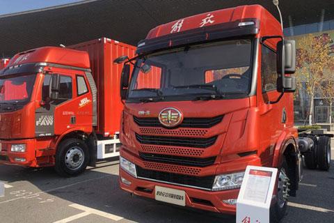 FAW Jiefang Long VH 2.0 240HP 4×2 Truck+Dachai Power+Fast Gearbox