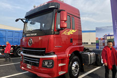SHACMAN Xuandeyi 3 350HP 4×2 Port Tractor+Yuchai Engine+FAST Transmission