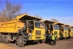 XCMG Secures a Purchase Order for 200 Units XG90 Dump Trucks