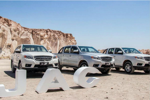 JAC Pick-ups Exports in 2019 Ranked Top Three, Sales Up by 26%