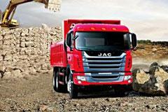 JAC HFC3251KR1K3 Dumper+Weichai Power+FAST Gearbox