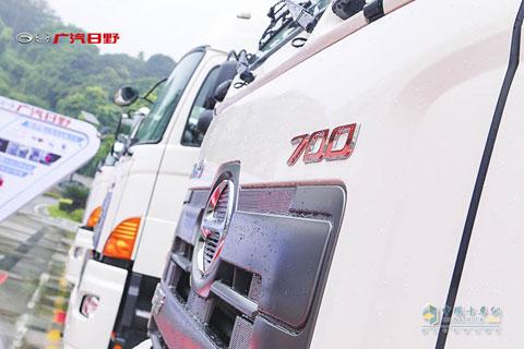 HINO 700 Zhenzhi 6×4 Dangerous Goods Transport Vehicle