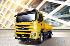 BYD T8B 4×2 Full Electric Suction-type Sewer Scavenger