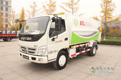 Foton OLLIN CTX 141HP 4×2 Refuse Collector