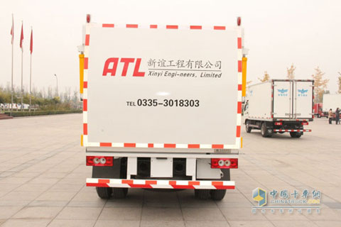 Foton OLLIN CTX 141HP 4×2 Refuse Collector