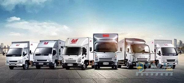 JMC Sold 5083 Light Trucks in January