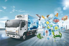 JAC Light Trucks Readily Meet Customers Varied Needs for Logistics Services