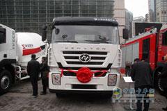 Hongyan Genlyon 4×2 290HP Road-block Removal Truck