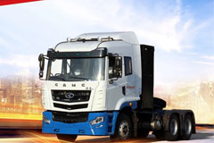 130 CAMC Battery Swapping Heavy-duty Trucks Delivered to Xi'an for Operation