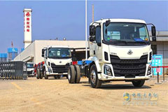 45 Units Chenglong Truck Chassis Delivered to Zoomlion