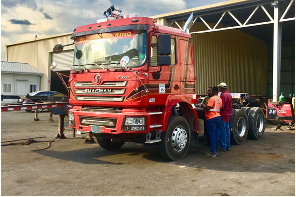 SHACMAN and Foton User from Jamaica to Purchase JAC Trucks
