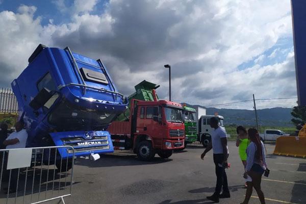 SHACMAN Showcases in Jamaica