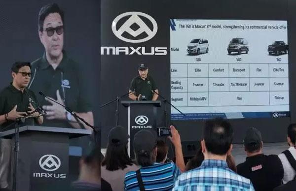 Maxus T60 Pickup Enters Philippines