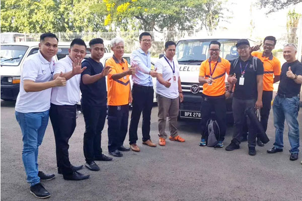Foton and LAZADA Team up in Malaysia to Promote Local Logistics Industry