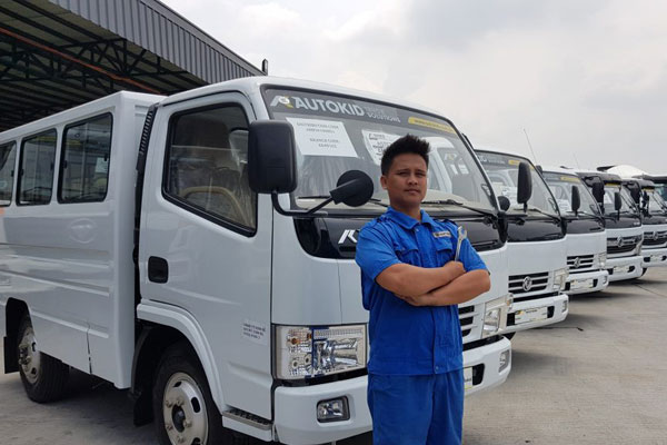 Dongfeng Trucks Available in Cagayan De Oro, in Philippines