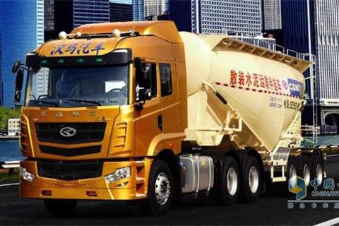 CAMC Hanma Powder Tank Semi-trailer
