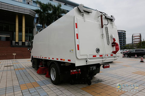 BYD T7A 4×2 Full Electric Road Sweeper