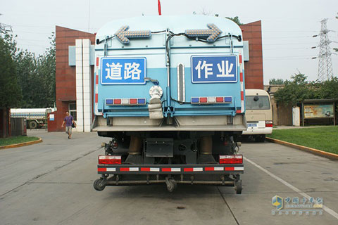 BYD T8SA 4×2 Full Electric Road Sweeper