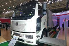 FAW Jiefang J6L 160kW 4×2 Full Electric Road Sweeper