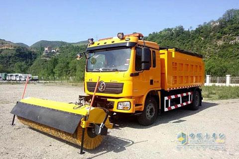 SHACMAN SBT5180TCXLA1 Snow Sweeper