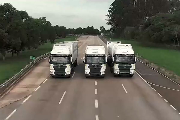 SHACMAN LNG Trucks in Brazil