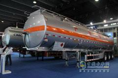 CIMC Aluminum Alloy Liquid Tank Semi-trailer