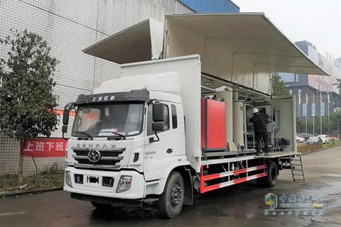 Hongyan Genpaw Treatment Vehicle of Medical Wastes