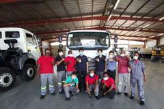 First Foton Auman EST-M Medium Truck Roll Off the Line in South Africa