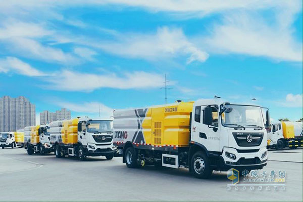 10 Units XCMG Urban Cleaning Vehicles Delivered to Chongqing for Operation