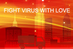 Together We Fight the Global Outbreak of Coronavirus with China Trucks