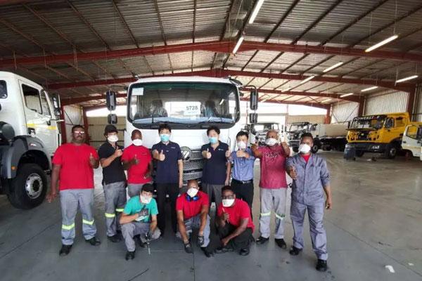 Foton Auman EST-M Truck Assembled in South Africa