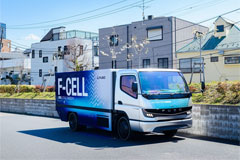Mitsubishi Fuso to Begin Series Production of Fuel-cell Trucks by Late 2020s