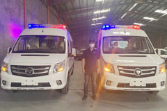 Foton TOANO Ambulances Arrive in Philippines to Help Fight COVID-19