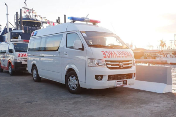 Foton Ambulances Arrives in Philippines to Help Fight COVID-19