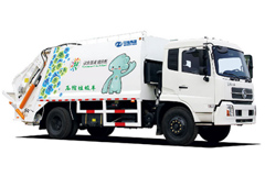 Zhongtong Compression Garbage Truck