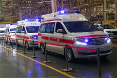 Liuzhou Motor Takes Delivery of Ambulances to Hospitals in Guangxi