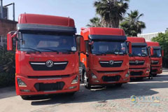 30 ISZ-powered Dongfeng KL Tractors Were Delivered to Customer
